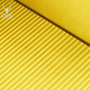 His-vis yellow rubber matting